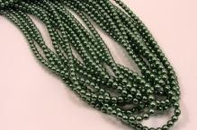 Perle zelená oliva